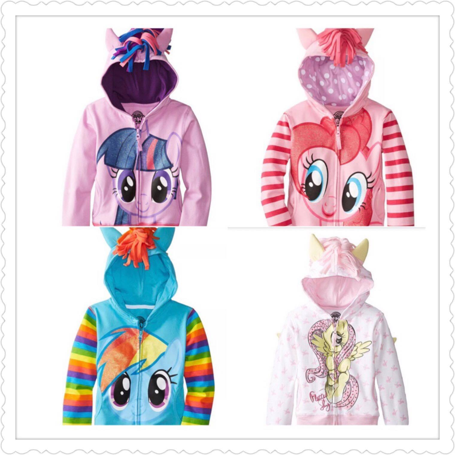 6b62f3ad4 My Little Pony Jackets Wind Breaker Sweater Hoodie READY STOCK Singapore  Seller FAST DELIVERY