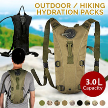 Outdoor Sports Mountain Hiking Climbing 3L TPU Tactical Hydration Water Backpack with Bladder