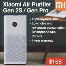 Best seller ❤$168❤Xiaomi Air purifier 2S/ 2S PRO OLED Display/ App Control Smart Home