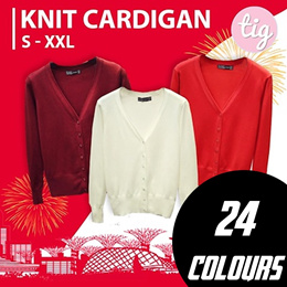 TIG SALE ★ KNITTED CARDIGAN ★ JACKET ★ XS - XXL ★ PLUS SIZE