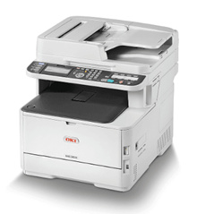 GSS PROMO OKI- MC363dn -Wireless Multifunction Printer Combined with Duplex Printing Copy and Scan