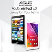 ASUS Zenpad 8 – Z380KNL-6B022A (Pearl White | Dark Grey)  (1 Year Local Warranty)