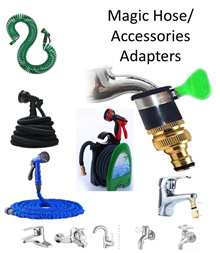🇸🇬Welcome Walk in 🇸🇬 Magic Hose Accessories Adapter / Spray / Car wash / adaptor