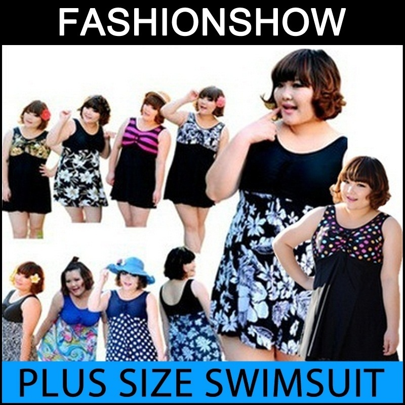 Qoo10 Plus Size Swimsuit Sportswear
