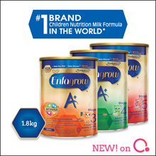 [Enfagrow A+] [SINGLE TIN PROMO] Enfagrow A+ with 360 DHA PLUS Stage 3/4/5 |1.8kg |