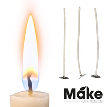 Candle Wicks 100pcs Free shipping | 10cm 15cm 20cm | Yankee | Candle making | Cotton core pre-tab