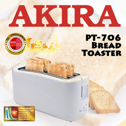 AKIRA PT-706 Bread Toaster / 1300W / 7 Varible Browning Control