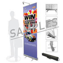 Budget Print Roll Up Banner (Free Printing Free Shipping) Local Seller