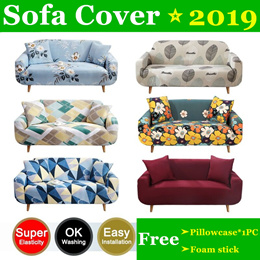 ⭐【BUY 1 Free 1 Pillowcase 】 ⭐Sofa Cover /  Sofa Bed Cover  /  Fit for With Armrest Sofa
