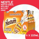 [NESTLÉ] NESTUM Cereal with Milk (Bottle Drink) [6 x 225ML]