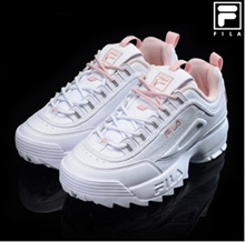 ★ FILA ★ Disrupter 2 Pink Flamingo (FS1HTA1074X_XPK)/ WOMAN SIZE/ RUNNING SHOES