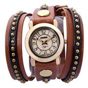 Time100 Punk Rock Style Shell Dial Long Strap Ladies Quartz Watch #W50035L.02A