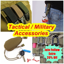 [20% OFF Fellow Discount] ♥  [ITS_DEAL] ♥ Military Tactical accessories ♥ carabiner ♥ camping   ♥