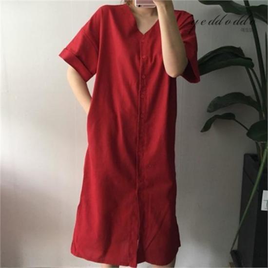 はいトト行き来するようにはいトトミンダンチュワンピース プリントのワンピース/ 韓国ファッション