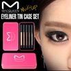 [MACQUEEN] Waterproof Gel Eyeliner set Tin Case (5Kit)
