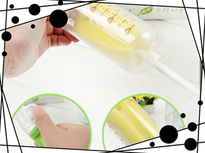 2 Pcs Sponge Brush Baby Milk Feeding Bottle Nipple Useful Cleaning Brushes