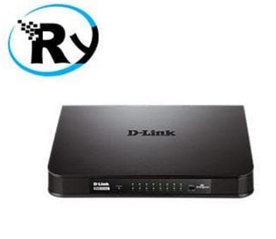 D-Link DGS-1016A 16-Port Unmanaged Gigabit Plastic Switch SJ0049 k0005