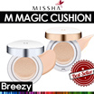 BREEZY ★ [Missha] M Magic Cushion SPF50+ PA+++ / M Magic Cushion Moisture SPF50+ PA+++ / Refill