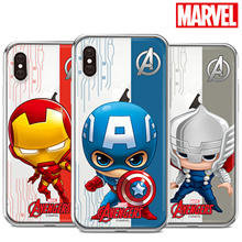 ★Authentic★Marvel Jelly Case★iPhone X/8/7/6/S/Plus/Galaxy S9/Plus/S8/S7/Note 8/5/4/A5 2017/J5 Pro/