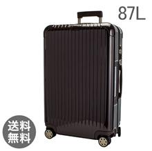 【E-Tag】 RFID tag RIMOWA Rimowa Salsa Deluxe 872.73 87273 【4 Wheel】 Suitcase Multi 【SALSA DELUXE】 Brown Multiwheel 87L (83