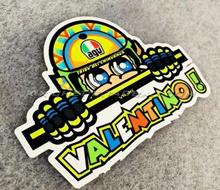 46 Rossi Applique agv Five Continents Helmet Element Motorcycle Car Sticker   6PCS