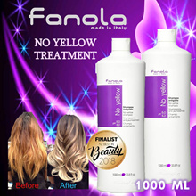 ❤ FREE SHIPPING! ❤ Fanola Italy No-yellow treatment purple shampoo 1000ml. Salon grade.