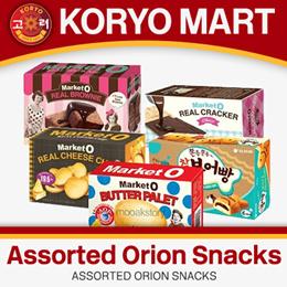 [K-Snack] Assorted Orion Snacks - Market O Series / Fishcake