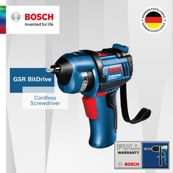 [Resmi E-Store] Bosch GSR BitDrive Cordless Obeng. Fungsi Mudah dengan 12 Screw bit Termasuk Deals for only Rp1.060.800 instead of Rp1.060.800