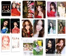 100pcs cards Red Velvet TWICE BLACKPINK TARA GFriend(G)I-DLE Taeyeon I.O.I EXID wannaone BTS
