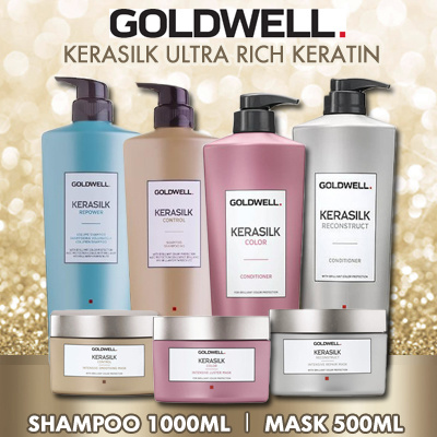 TERMURAH DI QOO10! Goldwell Kerasilk Ultra Rich Keratin 1000ml Deals for only Rp534.200 instead of Rp1.405.790