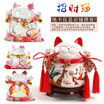 (4/6 inches ) 2016 Chinese New Year Home Decor / Lucky cat / NEW YEAR Gifts/Christmas Gifts-幸运招财猫