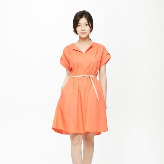 プラストーリー腰バンディングワンピースベルトPH2WO563 面ワンピース/ 韓国ファッション