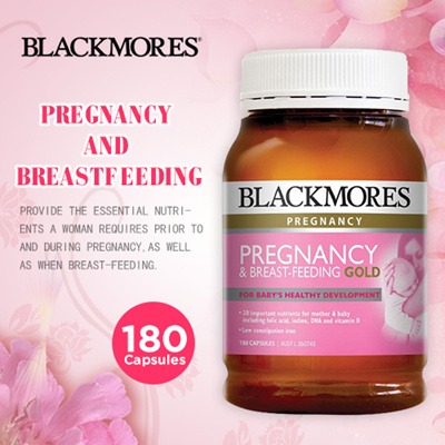 Blackmores Pregnancy and Breast Feeding Gold 180caps