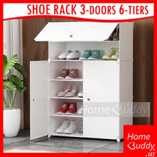 [FREE Delivery!] Shoe Rack Eco $16.90 ■ Shoe Rack $39.90 [plastic panel. LARGE. 18~24 pairs] ■ SG