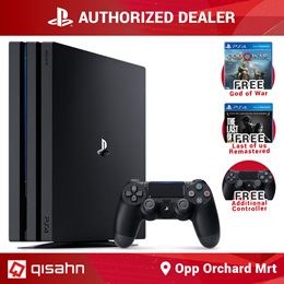 PS4 Playstation 4 Pro Console // 1TB // God of War + Last of Us Bundle