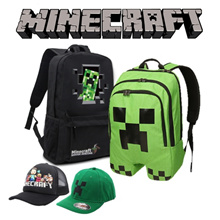 Minecraft Backpack Kids bag Mine Craft Birthday Christmas Gift GAME