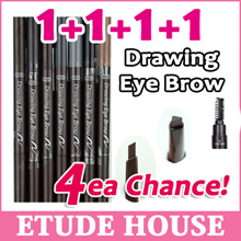 [ETUDE HOUSE]★1+1+1+1★ 4ea Chance!!! DRAWING EYEBROW Auto Pencil/Eye Make up ★4ea★