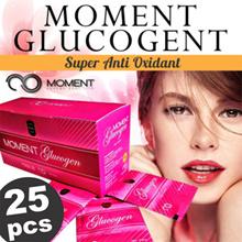 ORIGINAL 100% MOMENT GLUCOGEN Glutathione (GSH) - COLLAGEN - SUPER ANTIOXIDANT - NEW PACKAGING !