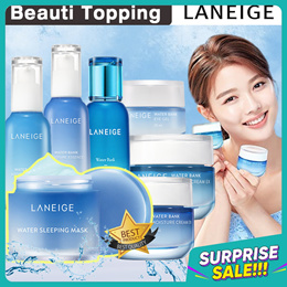 ONLY 1-DAY SALE💙 [LANEIGE] WATER BANK SKIN CARE LINE💦 SLEEPING MASK / ESSENCE / CREAM / MOIST