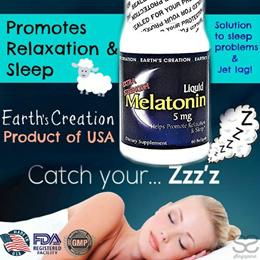 🇺🇸 Usual $18.90 ~ Earth's Creation Liquid Melatonin 5mg Softgel Extra Strength 💤 60 Softgels