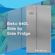 BEKO ASL141S   / 640L / SIDE BY SIDE / REFRIGERATOR