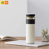 💖LOCAL SELLER💖Xiaomi Youpin Fun Home Portable Water Vacuum Cup 520ml Tea Water Separation Bottle O