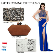 Bag♥Clutch Bag♥Handbag♥Marble Design♥Evening Gown♥Cosmetic Mirror♥Mini Mirror♥Small Mirror♥FREEPouch