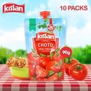KISSAN TOMATO KETCHUP CHOTU PACK(Pack of 10)