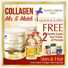 LAST DAY $25/ ITEM!!!* [2+2+ 2 X FREE* CHOICE! 💎NANO COLLAGEN 💎NANO ROYAL JELLY 💎BEST-SELLER MIX