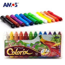 ❤IMP❤[AMOS]100% Non-toxic water washable 3 in 1 crayon/Amos iclay/Amos Glass Deco/color pen