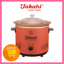 TAKAHI 2404 (RED) H/HEAT 3.5L SLOW COOKER