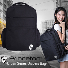 Princeton Urban Series Diapers Bag (FREE GIFT DIAPERS MAT AND WARMER BOTTLE BAG)