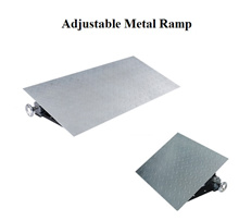 Adjustable Height Metal Ramp