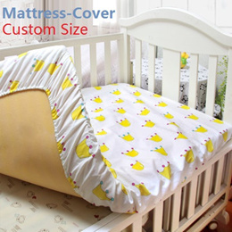 Baby Soft Crib Bed Sheet For Children Mattress Cover Protector/Mattress-Cover/Can Custom Make